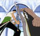 Roronoa Zoro gegen Daz Bones