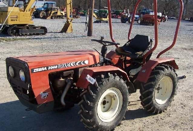 3522 Zebra Zetor Tractor Parts : Zebra tractor construction plant wiki the classic