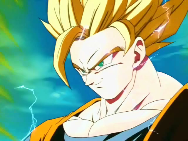 Is there a physical difference between SSJ and SSJ2  Dragon