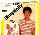 Simplicity 6384 B