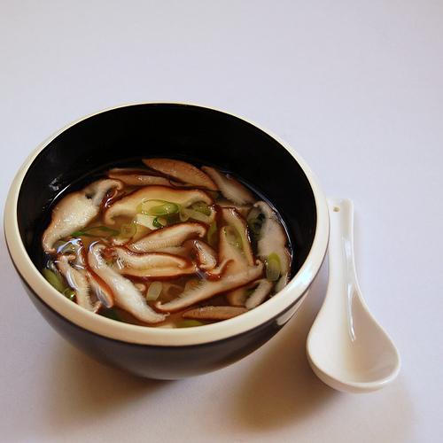 Miso Soup with Silken Tofu and Shiitake Mushrooms by JayMan3 ...