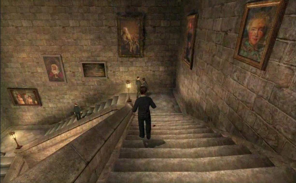 Harry Potter Staircase : Square staircase g