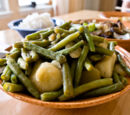 Green Beans and Potatoes by Elle Bee