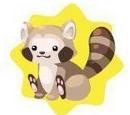 Happy Raccoon Plushie