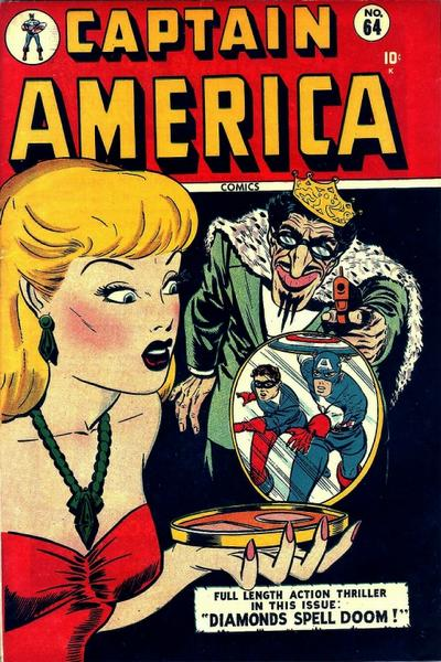 Captain America Comics 1 Value Captain America Comics Vol 1