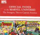 Avengers, Thor & Captain America: Official Index to the Marvel Universe Vol 1 4