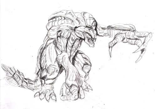 king ghidorah coloring pages - orga godzilla rpg battles wiki