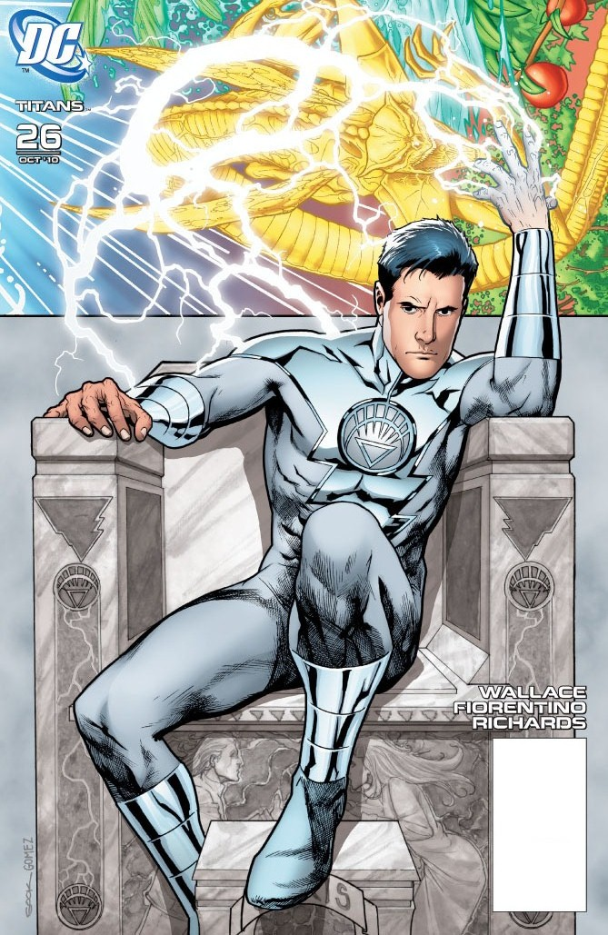 Image - White Lantern Amon Tomaz.jpg - DC Comics Database