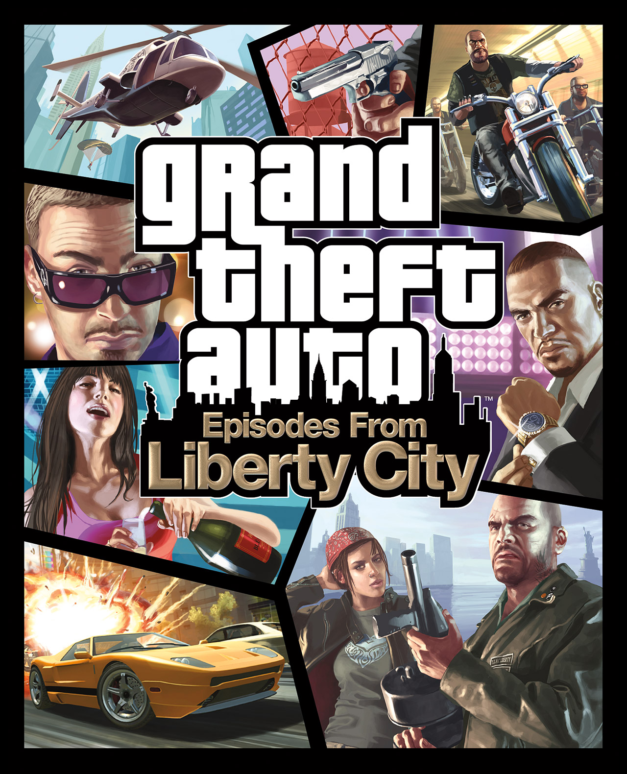 grand theft auto episodes from liberty city gta wiki the grand theft auto wiki gta iv san. Black Bedroom Furniture Sets. Home Design Ideas