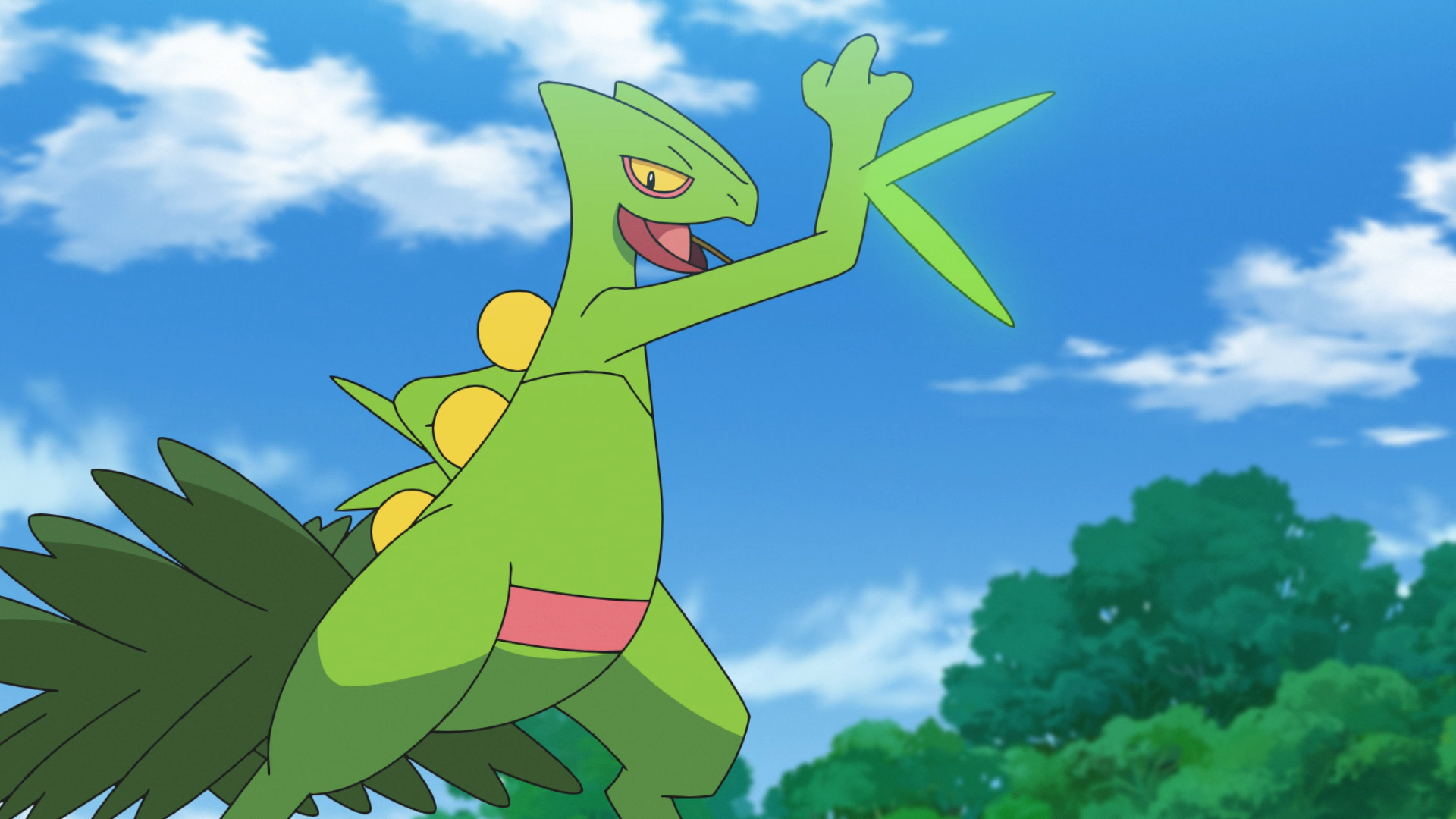 Pokemon Ruby Version - Pokemon of the Day: Sceptile (#254)