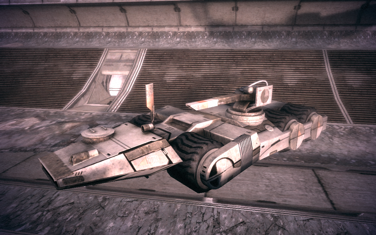 Mass Effect 3 Vehicles: Mass Effect, Mass Effect