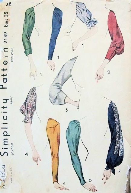 Simplicity 2149 A Vintage Sewing Patterns