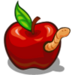 Wormy Apple-icon