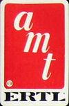AMTErtl company logo 1982-1986