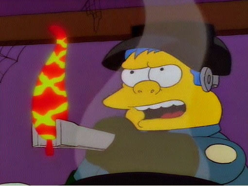 Me Refiero Ahi Abajo Los Simpsons
