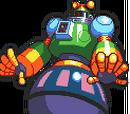 Mega Man and Bass sprites