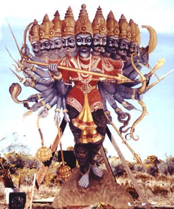 Long, tall and ugly x10: Ravana, the Demon King!