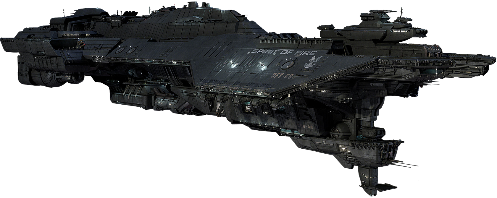 United Federation of Red Sun Systems UNSC_Spirit_of_Fire_(CFV-88)