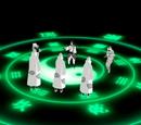 Ocho Trigramas Sesenta y Cuatro Palmas