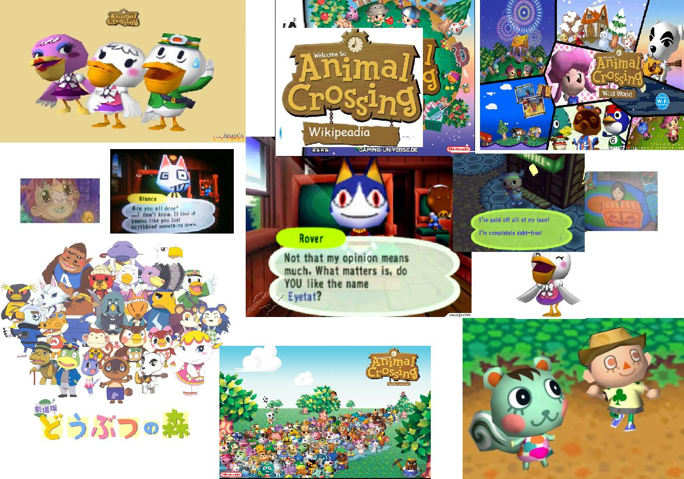 Animal Crossing Wikipeada Wiki Navigation