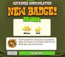 Advanced Accumulation Badge