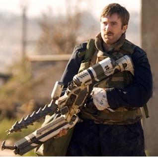 Murdock played by Sharlto CopleyThe A Team 2010 Murdock