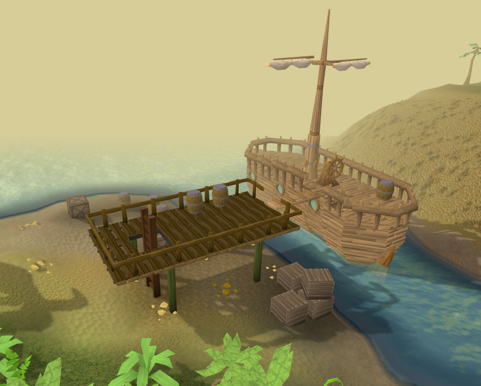 how to get to port khazard from port sarim