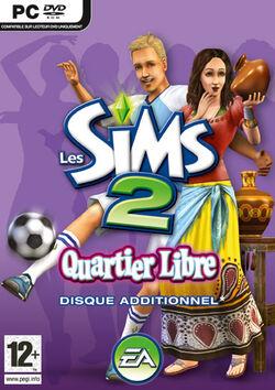 Jaquette Les Sims 2 Quartier Libre