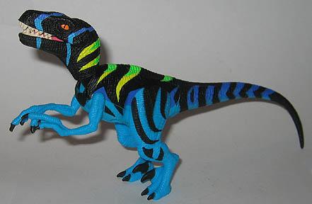 Jurassic Park 3 Velociraptor Toy Raptor Alpha - ...