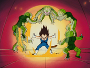 VegetaKidVsSaibamenMovie