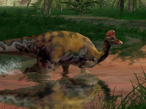 Corythosaurus - Park Pedia - Jurassic Park  Dinosaurs  Stephen    Jurassic Park Corythosaurus
