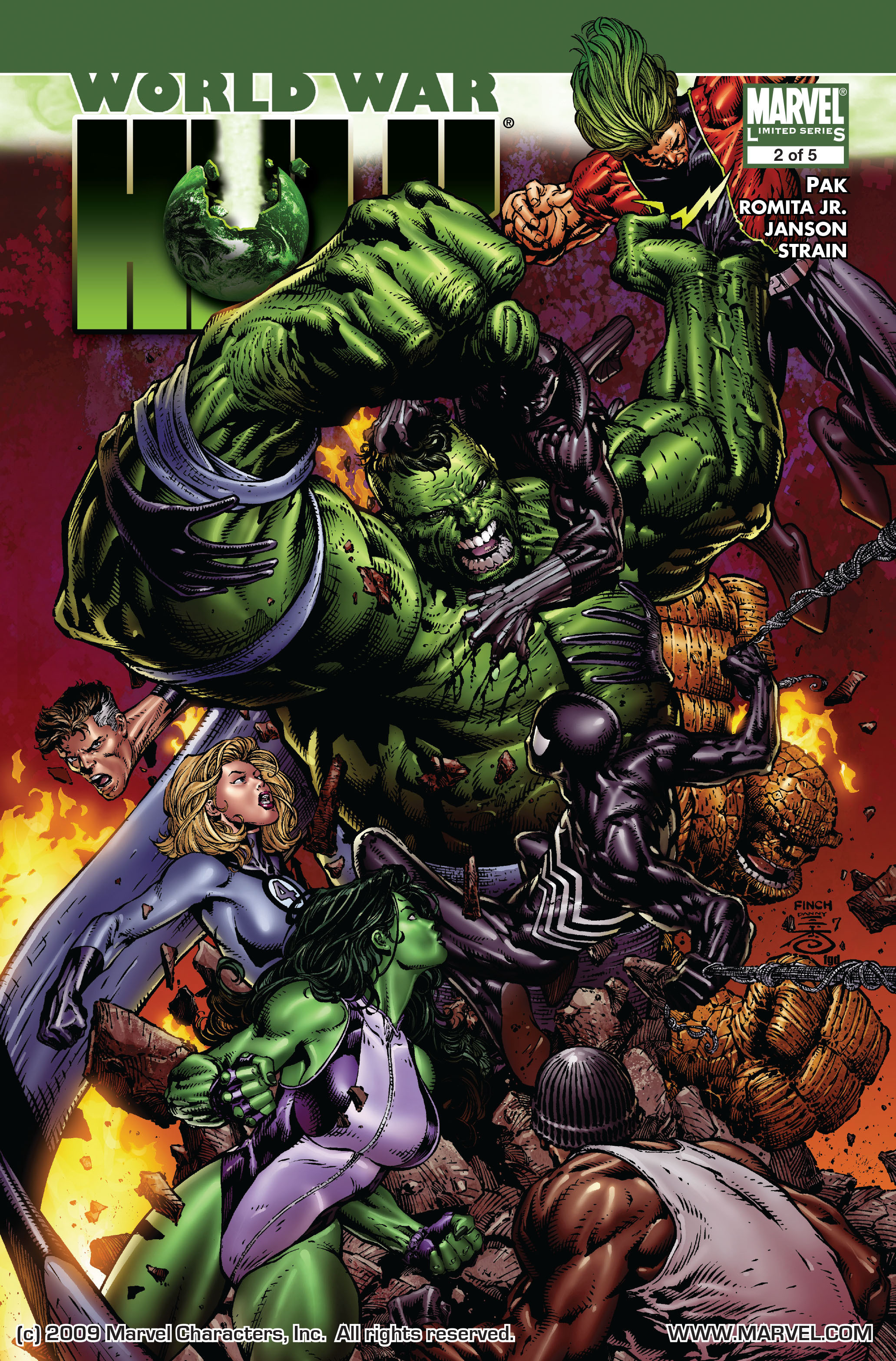 World War Hulk Vol 1 2 Jpg
