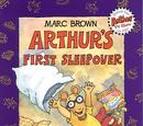 Arthur's First Sleepover (book)