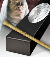 Lucius Malfoy's wand - Harry Potter Wiki