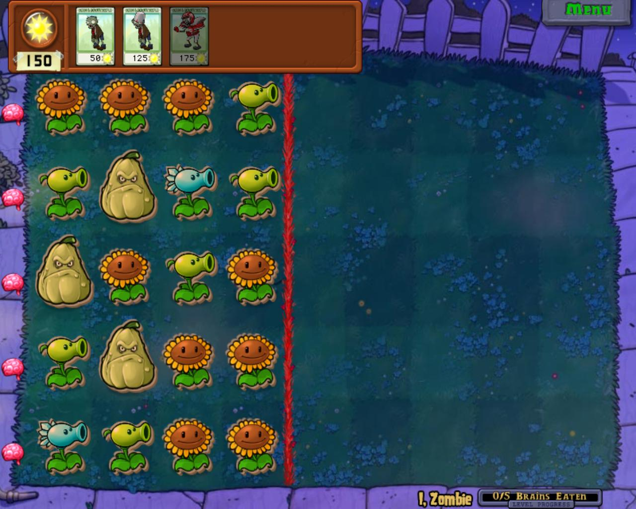 plants vs zombies puzzles