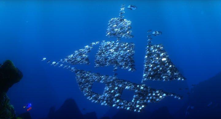 Image moonfish pixar wiki disney pixar for Hawaiian moon fish