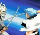 Shinji Hirako vs Grimmjow Jaegerjaquez