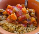 Morrocan Stew w/ Sweet Potatoes and Garbanzos by Summersumz