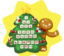 Holiday Tree Countdown Calendar