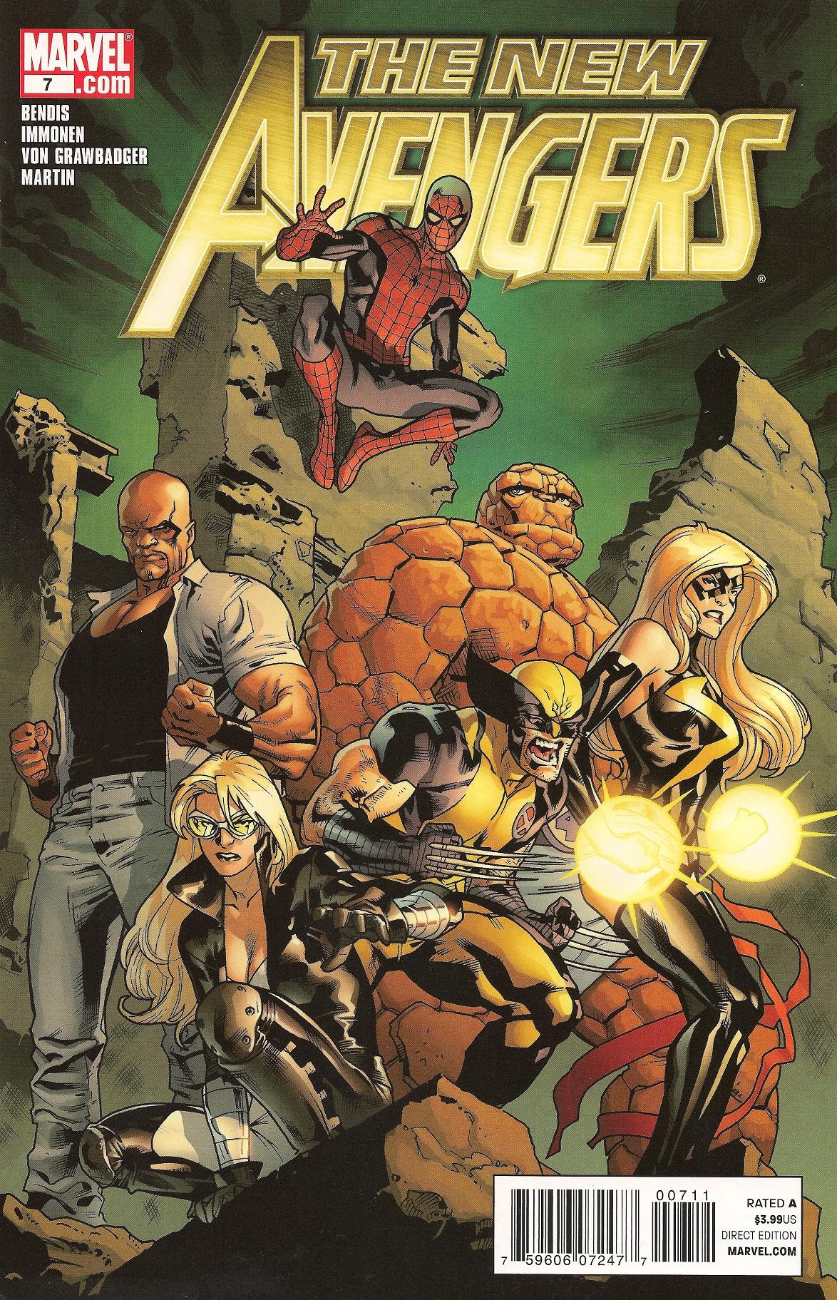 New Avengers Vol 2 7 Marvel Comics Database Wikia