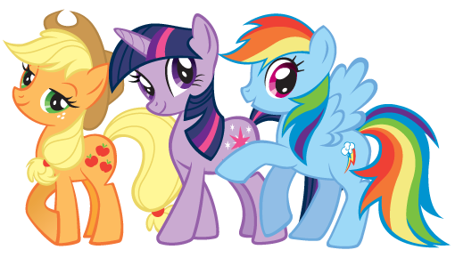 ... Sparkle and Rainbow Dash.png - My Little Pony Friendship is Magic Wiki
