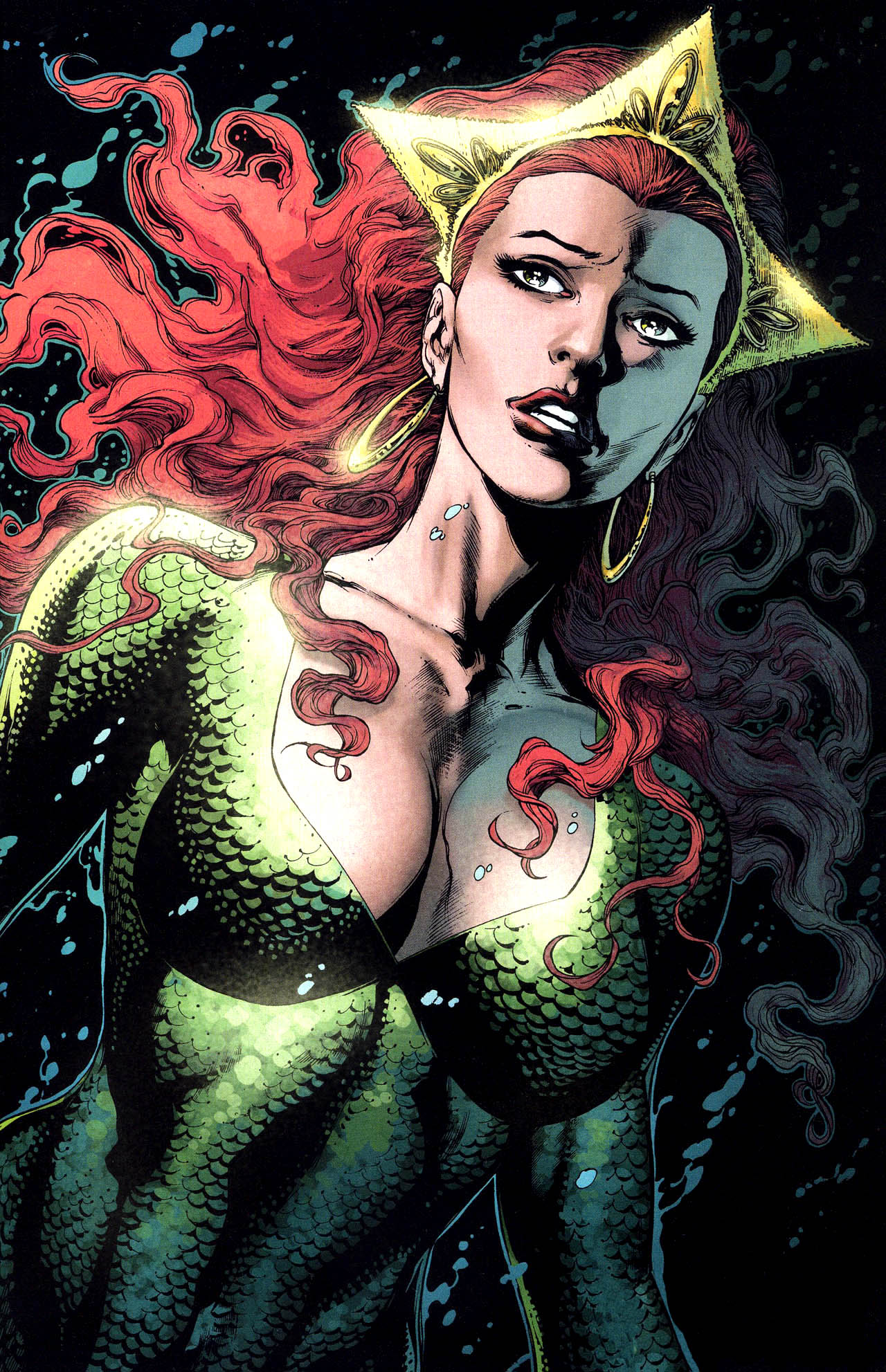 Aquaman and Mera Comic