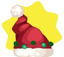 Crooked Santa Hat