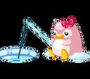 Cute Pink Penguin