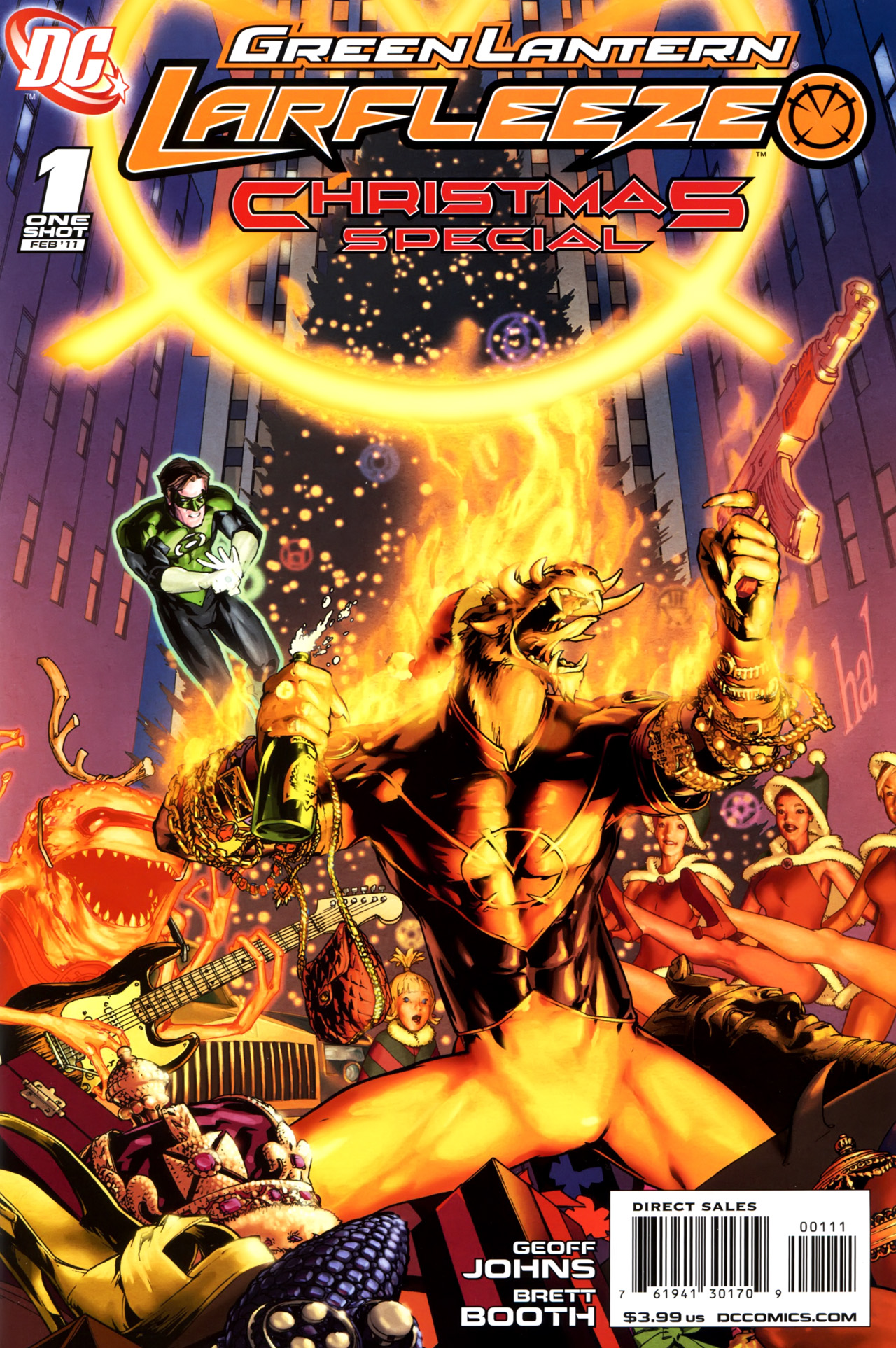 Podcast DC Earth Green_Lantern-_Larfleeze_Christmas_Special_Vol_1_1