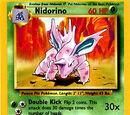Nidorino (Base Set TCG)