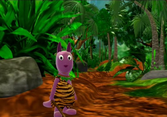 Into the Thick of It - The Backyardigans Wiki
