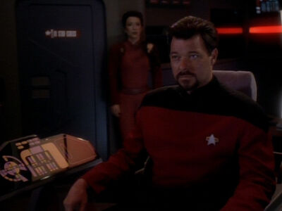 Thomas Riker in der Defiant