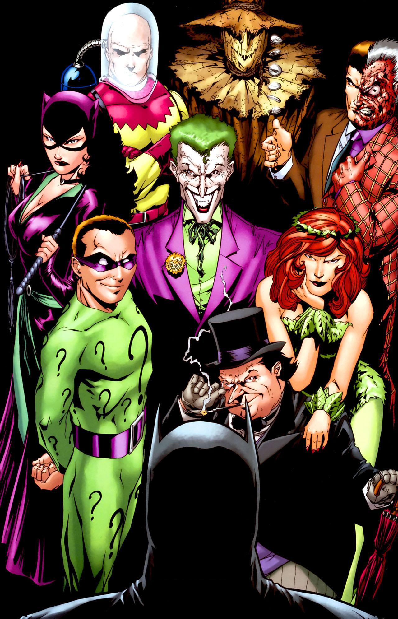 Bearded Batman Villains Batman Villains 0003