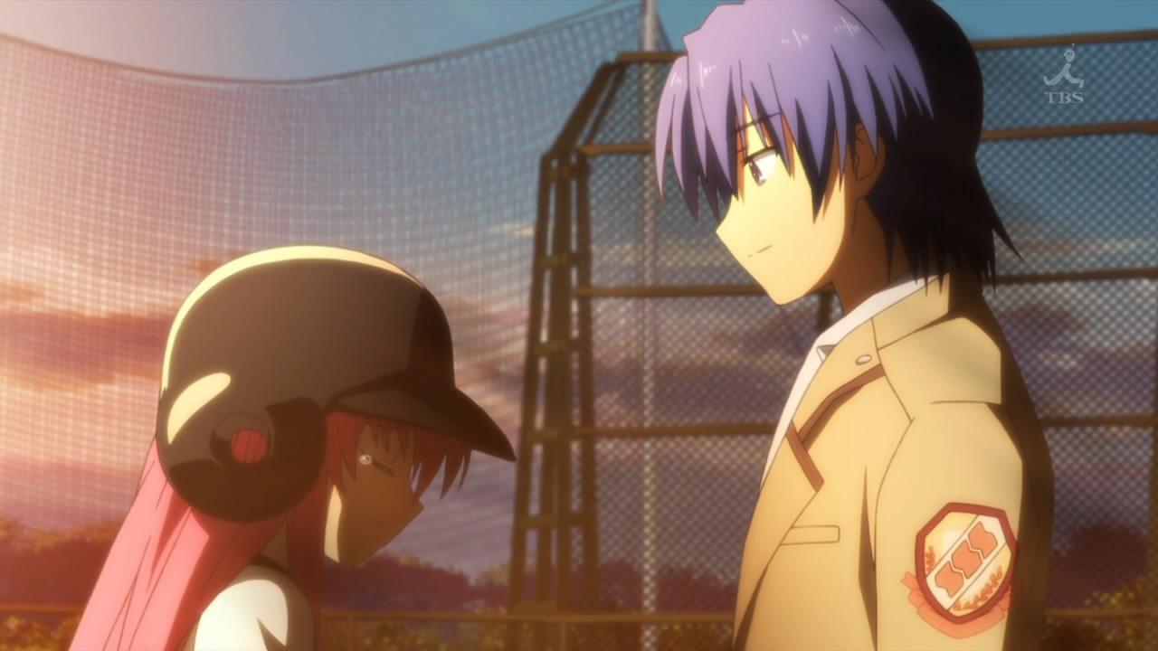 Yui And Hinata Angel Beats Hideki Hinata - Angel ...